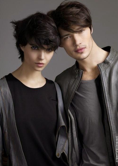 Portrait, adolescent, asiatique, cheveux long Style de