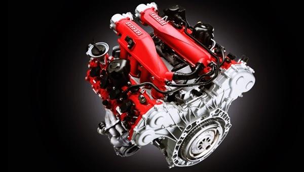 Ferrari California T using V8 Engine Turbocharged