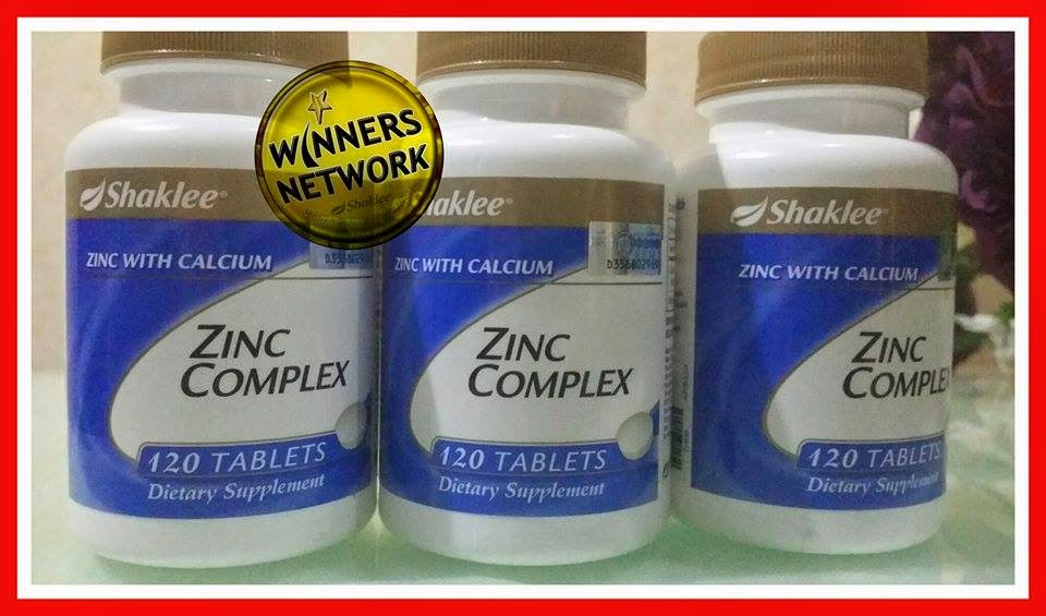 Zinc Complex, Pengedar Shaklee Bertam, Pengedar Shaklee Kepala Batas, Pengedar Shaklee Penang, ,Testimoni Zinc Complex, Keistimewaan Shaklee,