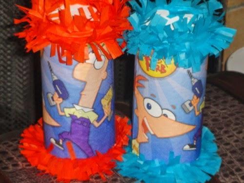 Piñatas de Phineas y Ferb, parte 2