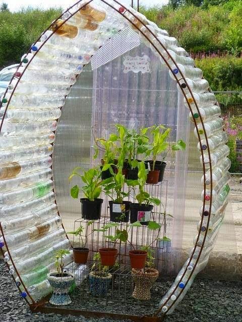 como hacer un invernadero para flores