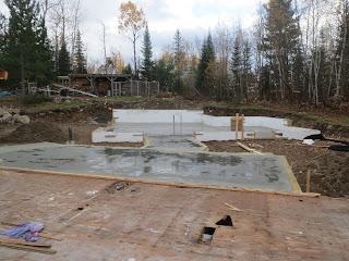 minneosta, north, huisman, slab garage floor