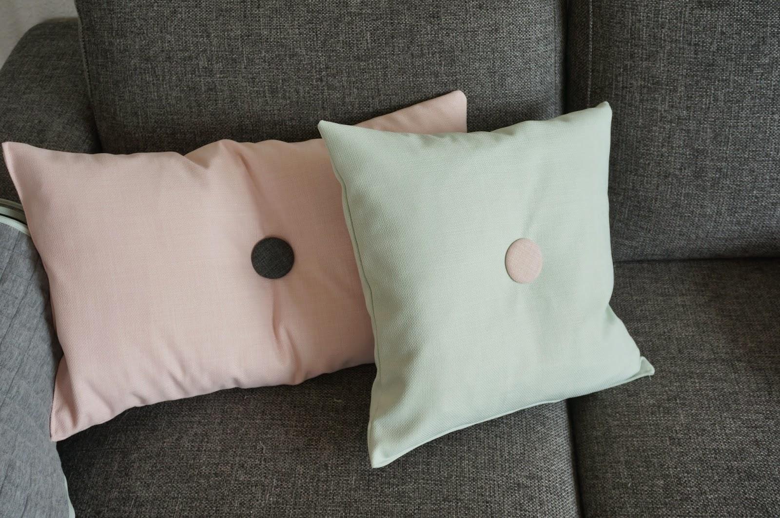 Lines verden: ny sofa   nye puder