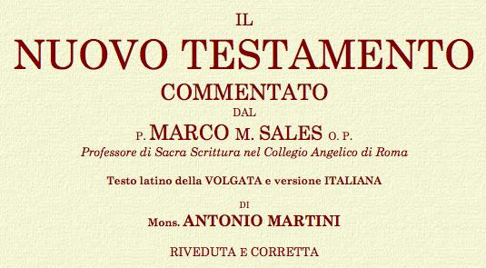 Nuovo Testamento LATINO-ITALIANO