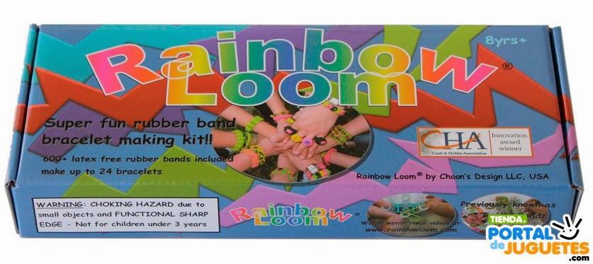 comprar set rainbow loom pulseras de gomitas