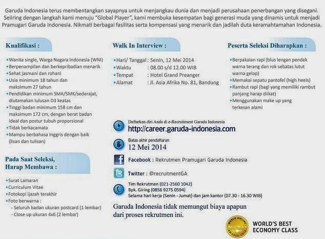 loker-pramugari-bandung-terbaru-mei-2014