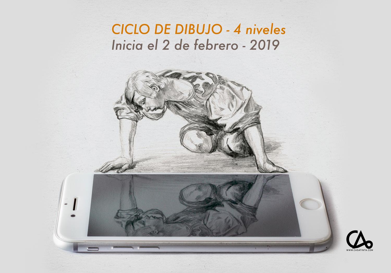 CICLO DE DIBUJO // 2 de feb