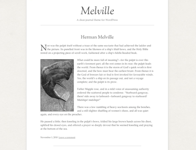 Wordpress Melville Theme