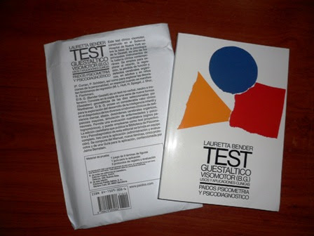 BENDER, TEST GUESTÁLTICO VISOMOTOR (b)