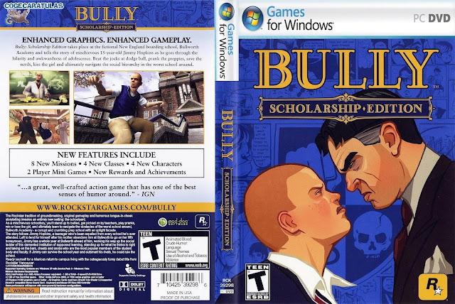 تحميل لعبة شغب في مدارس لندن Bully برابط واحد مباشر
