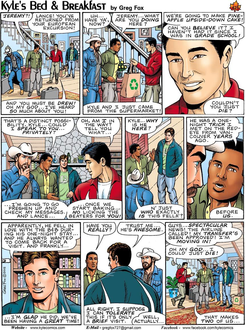 Gay web comic