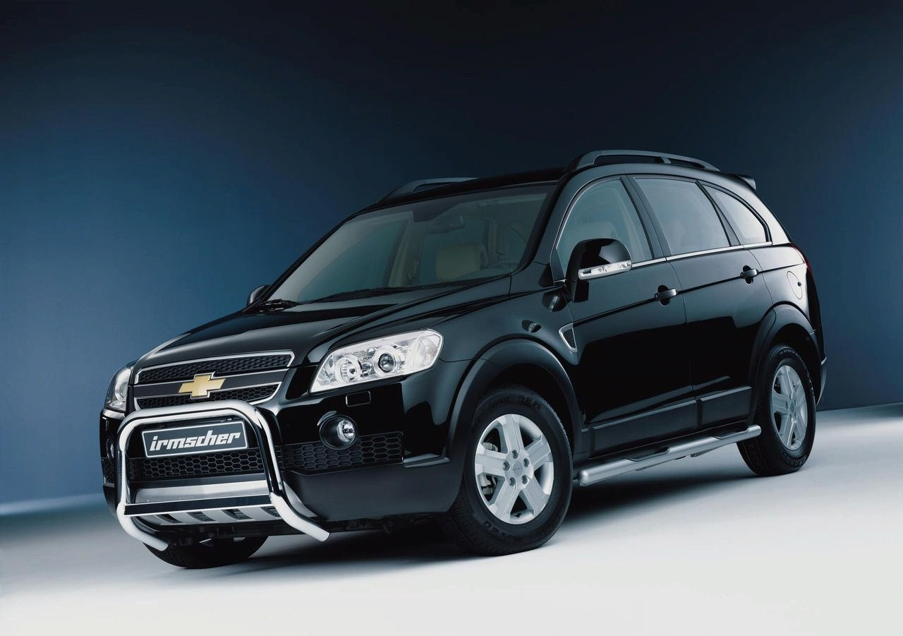 Chevrolet Captiva Spy Shots Car Features Pictures