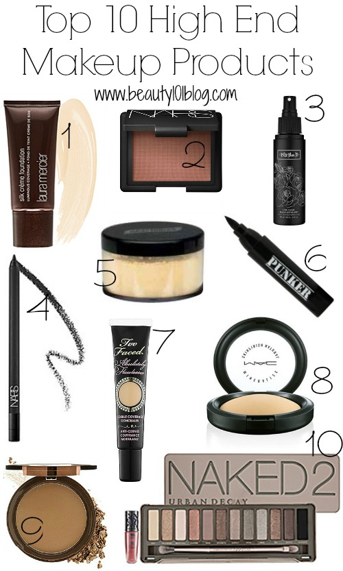 top 10 high end makeup products i need them all beauty