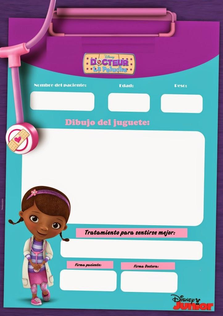 Moldes de: *♥* Dibujos A/C , *♥* Doctora Juguetes