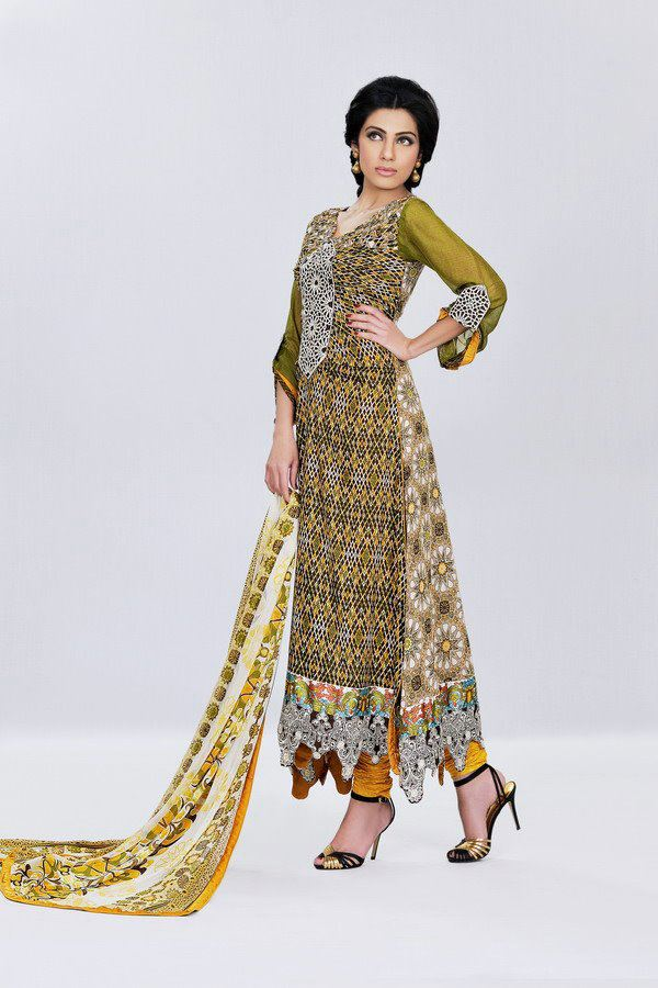 New lawn collection 2012