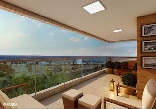 miramar residencial - varanda