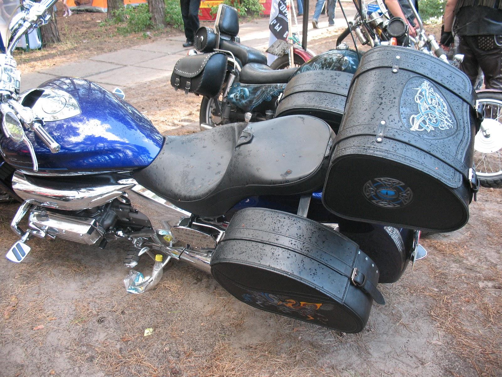 Пошив кофров для мотоцикла своими руками