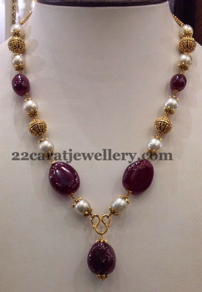 25gms Simple Beads Sets Gallery Jewellery Designs