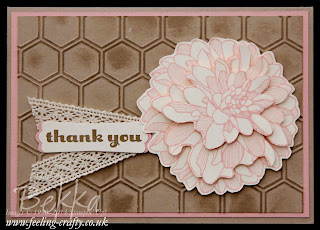 Vintage Style Regarding Dahlias Thank You Card - check out this cute card