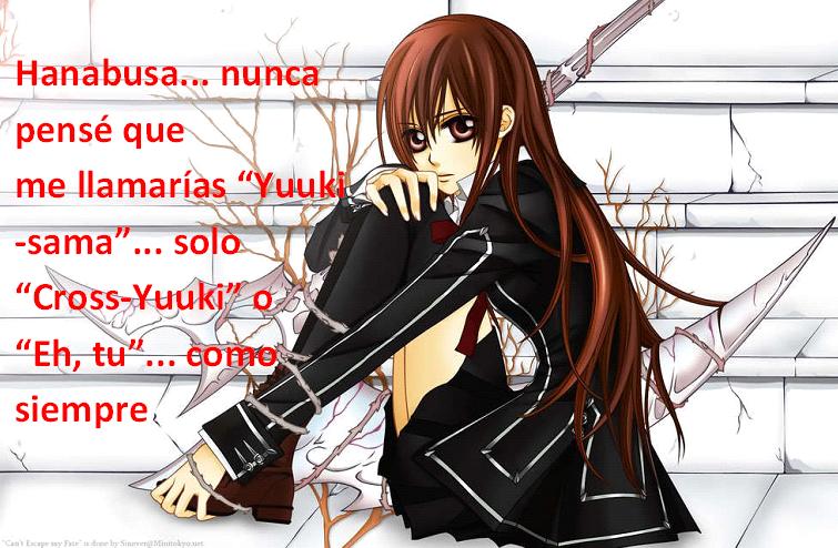 Frases con fotos del anime. YUUIKI
