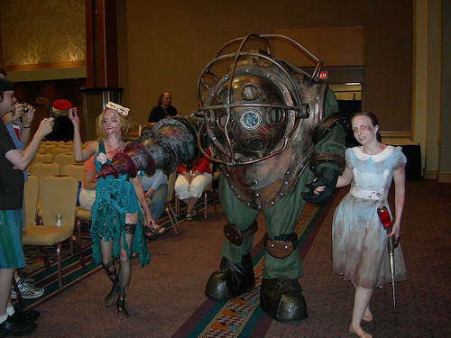 big daddy bioshock cosplay
