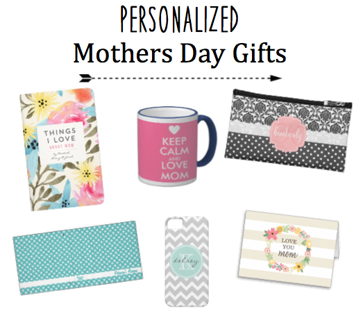 The Fashionable Affair Personalized Mothers Day Gifts