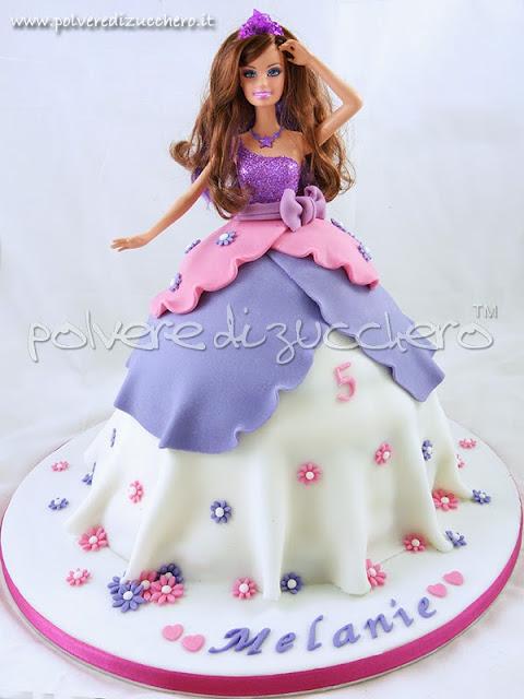 torta principessa, l'amica di barbie