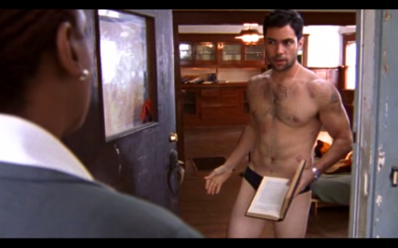 Danny Pino Shirtless