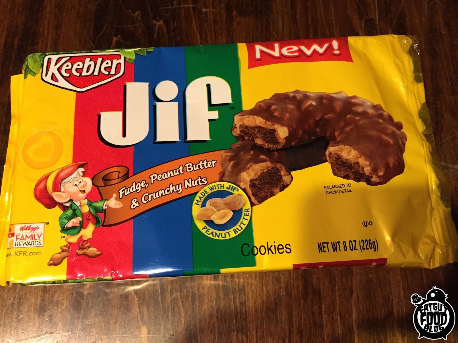 Fatguyfoodblog Keebler Jif Peanut Butter Cookies