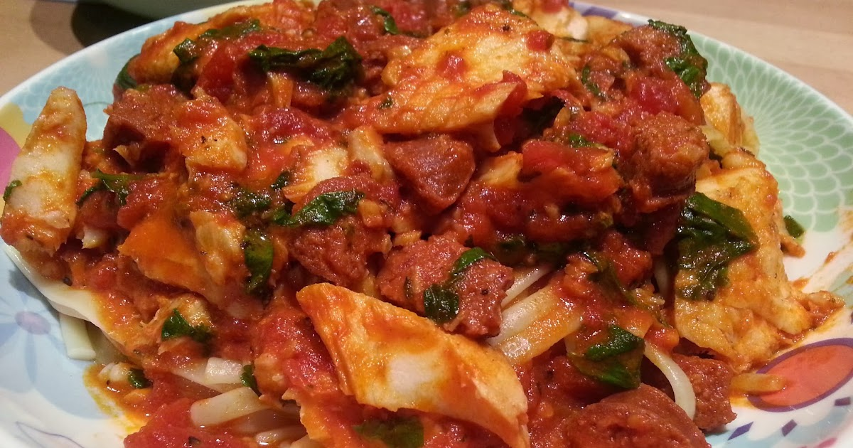 Slimming World Delights Spicy Tilapia Pasta
