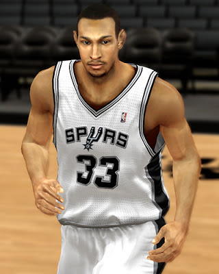 NBA 2K13 Boris Diaw Cyberface Mod Patch