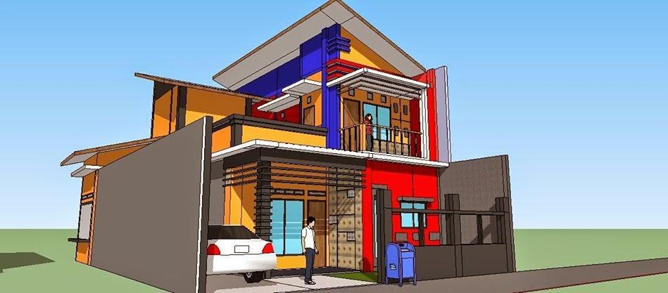 terima pesanan gambar desain rumah atau bangunan apapun