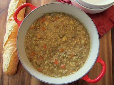 Soup for the Soul - Vegetable, Lentil, and Barley Soup
