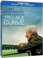trouble with the curve blu-ray dvd