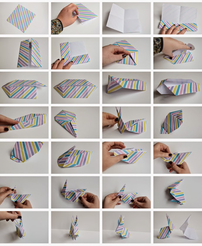 How To Make Origami Animals Step By For Kids