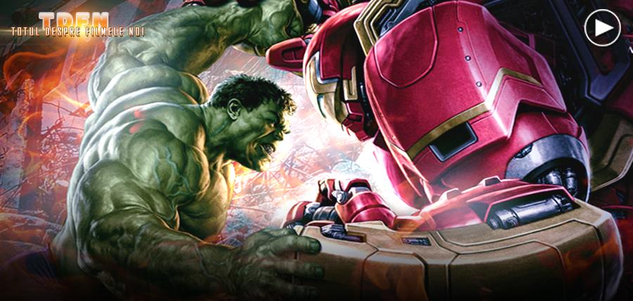 HULK vs. IRON MAN în noul clip Avengers: Age Of Ultron