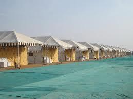 rann utsav tents