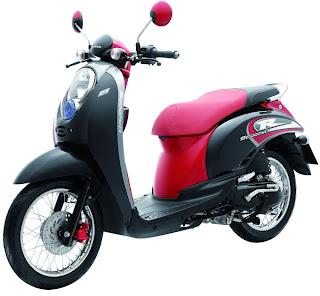 Motor Honda Scoopy
