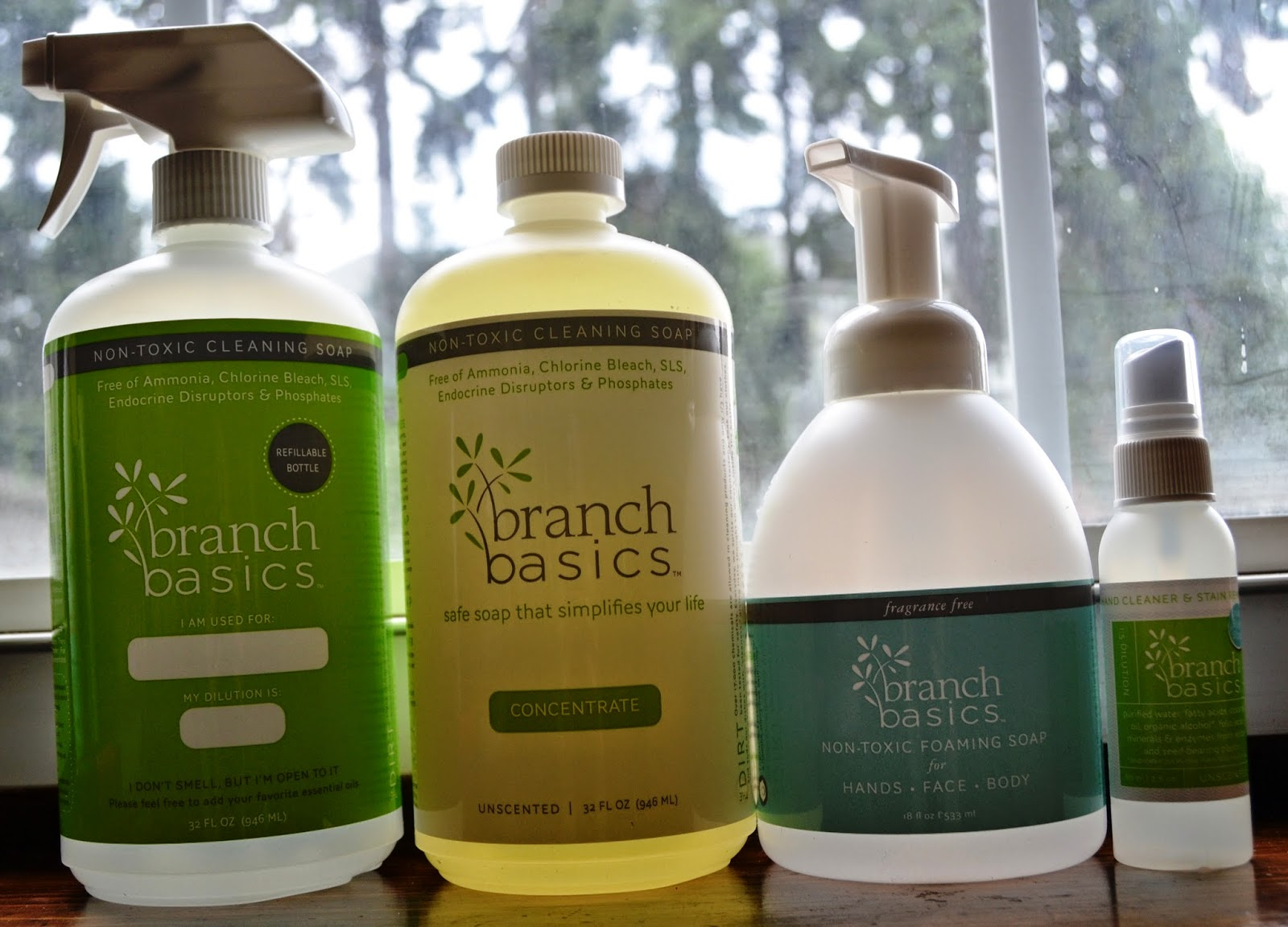 Branch Basics Non-Toxic Cleaning Products