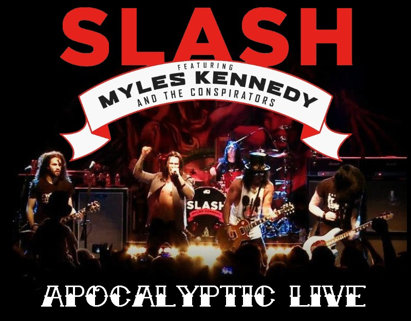 Slash Ft. Myles Kennedy Not For Me
