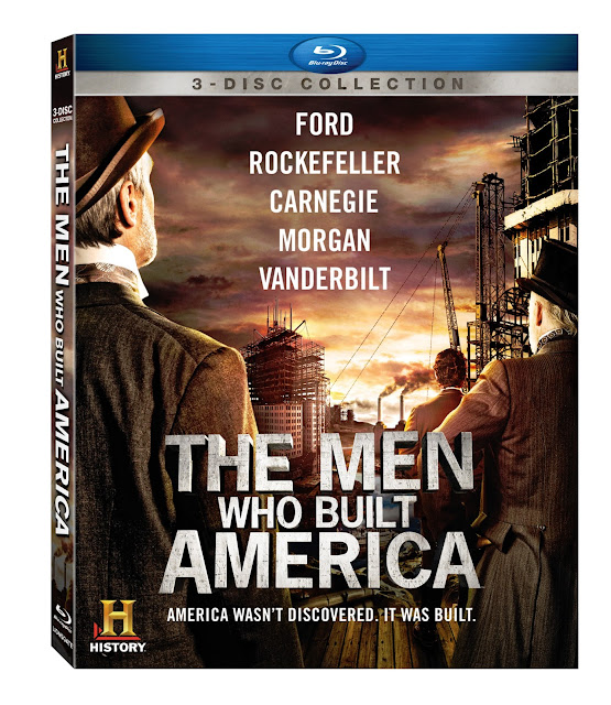 The Men Who Built America on Blu-Ray