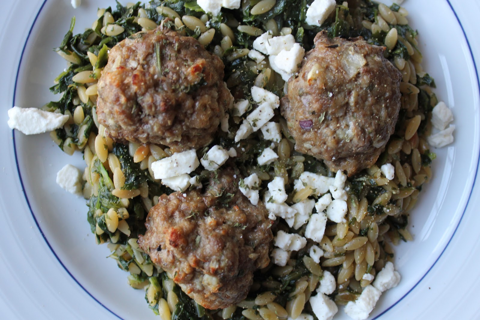 Life on Food: lamb meatballs with toasted orzo