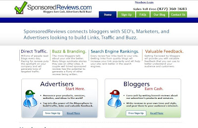 Get Paid To Blog With SponsoredReviews