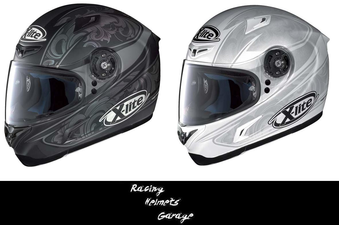 racing helmets garage x lite x 802 2012. Black Bedroom Furniture Sets. Home Design Ideas