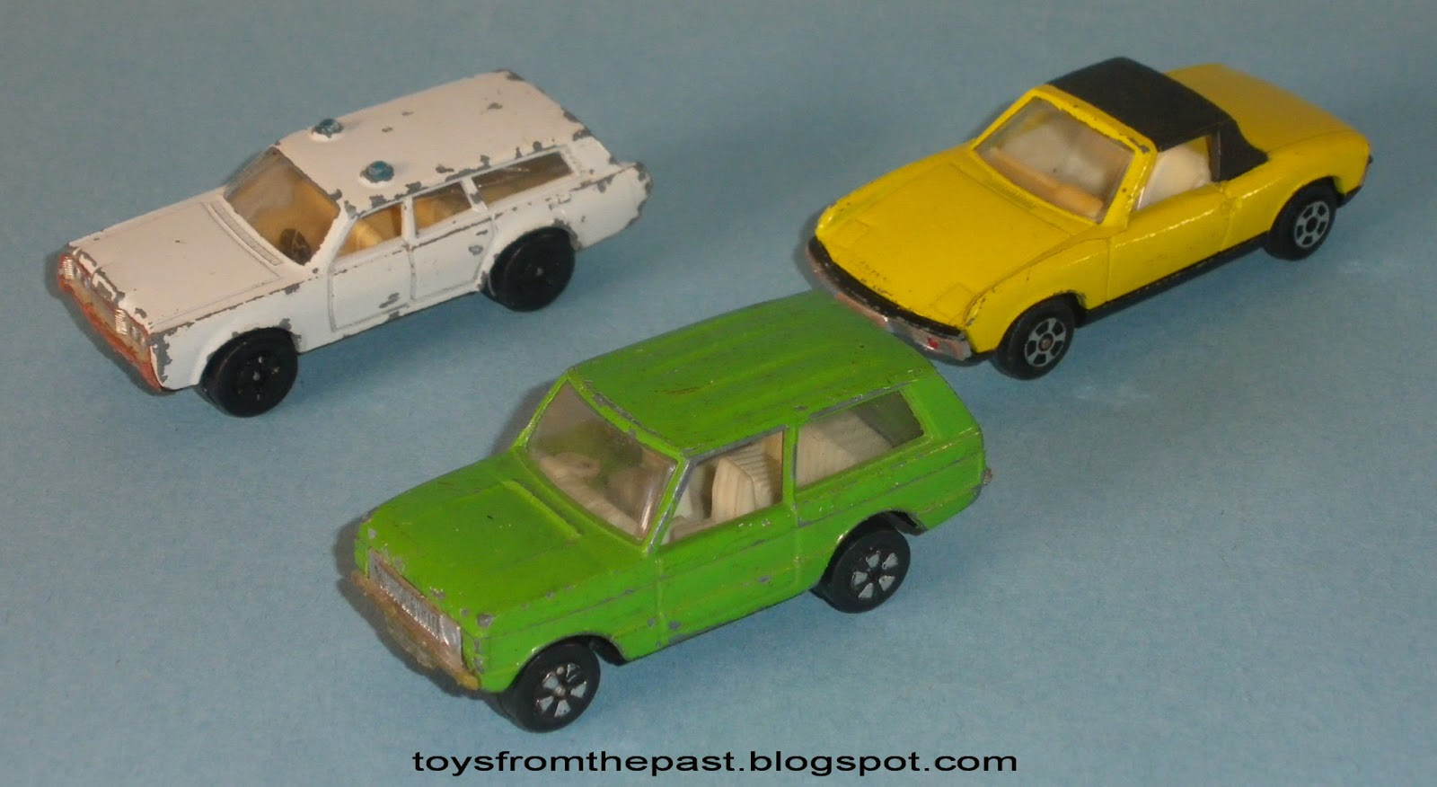 Toys from the Past: #309 PLAYART –MERCURY POLICE, VW PORSCHE 914 and ...