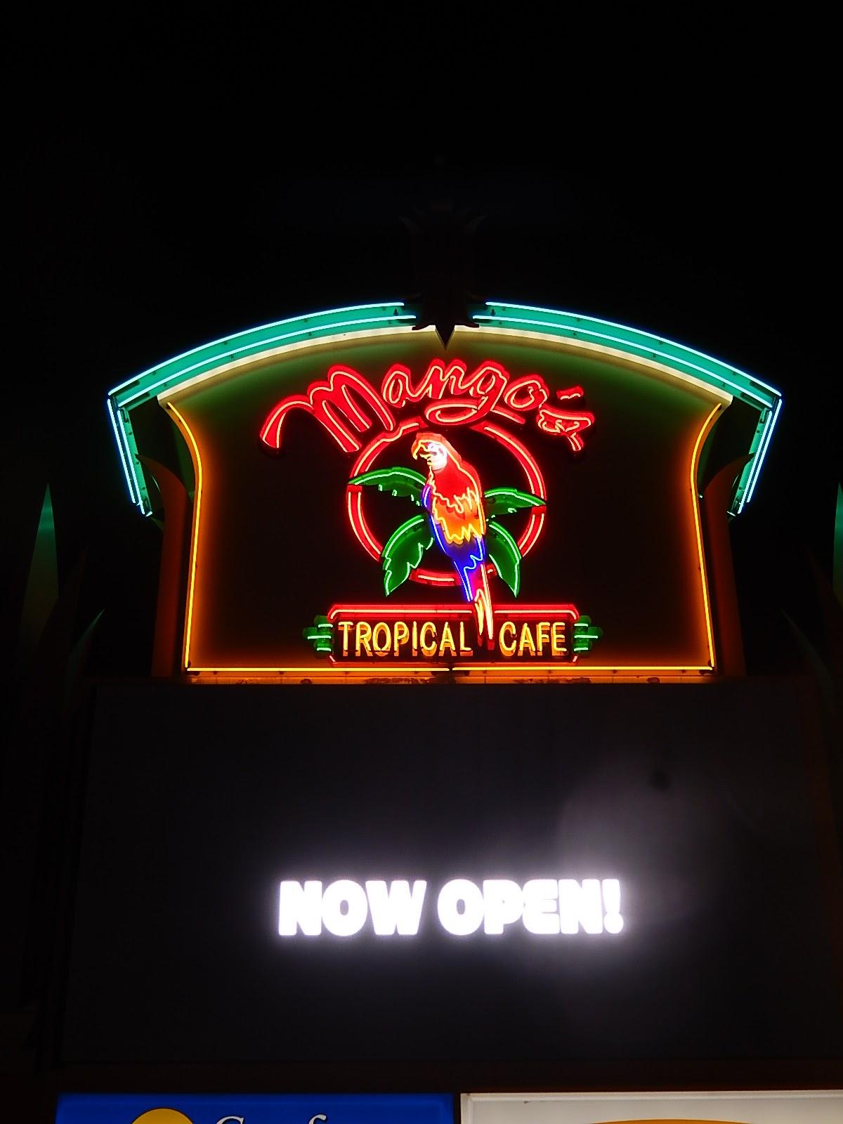 club report mangos tropical cafe - Tropical Cafe 2015