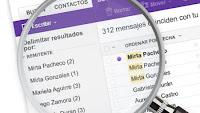 Nuevas funciones de busqueda agregadas a Yahoo Correo