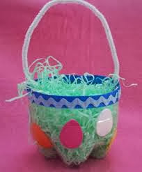 Easter Projects For Toddlers: Pretty Basket 3