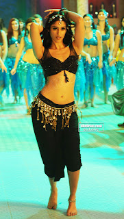 Ileana in Black Choli and Di