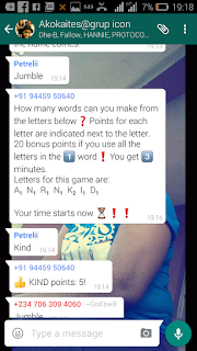 How to make whatsapp group lively